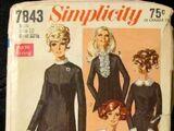 Simplicity 7843 A