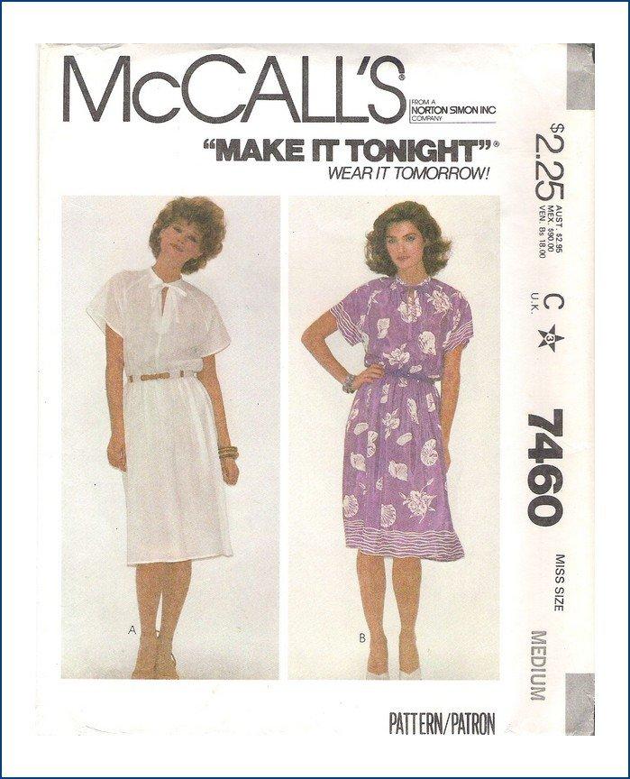 McCall's 7460 A