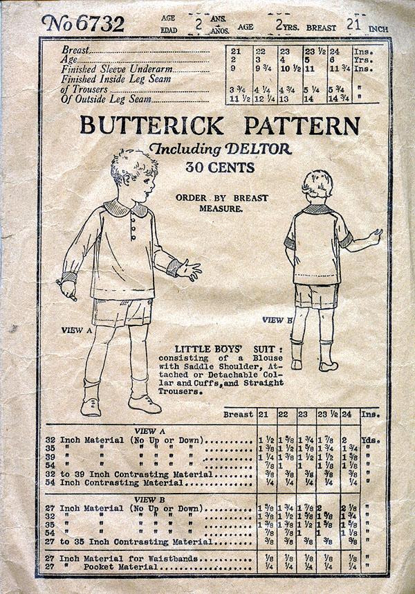 Butterick 6732 C
