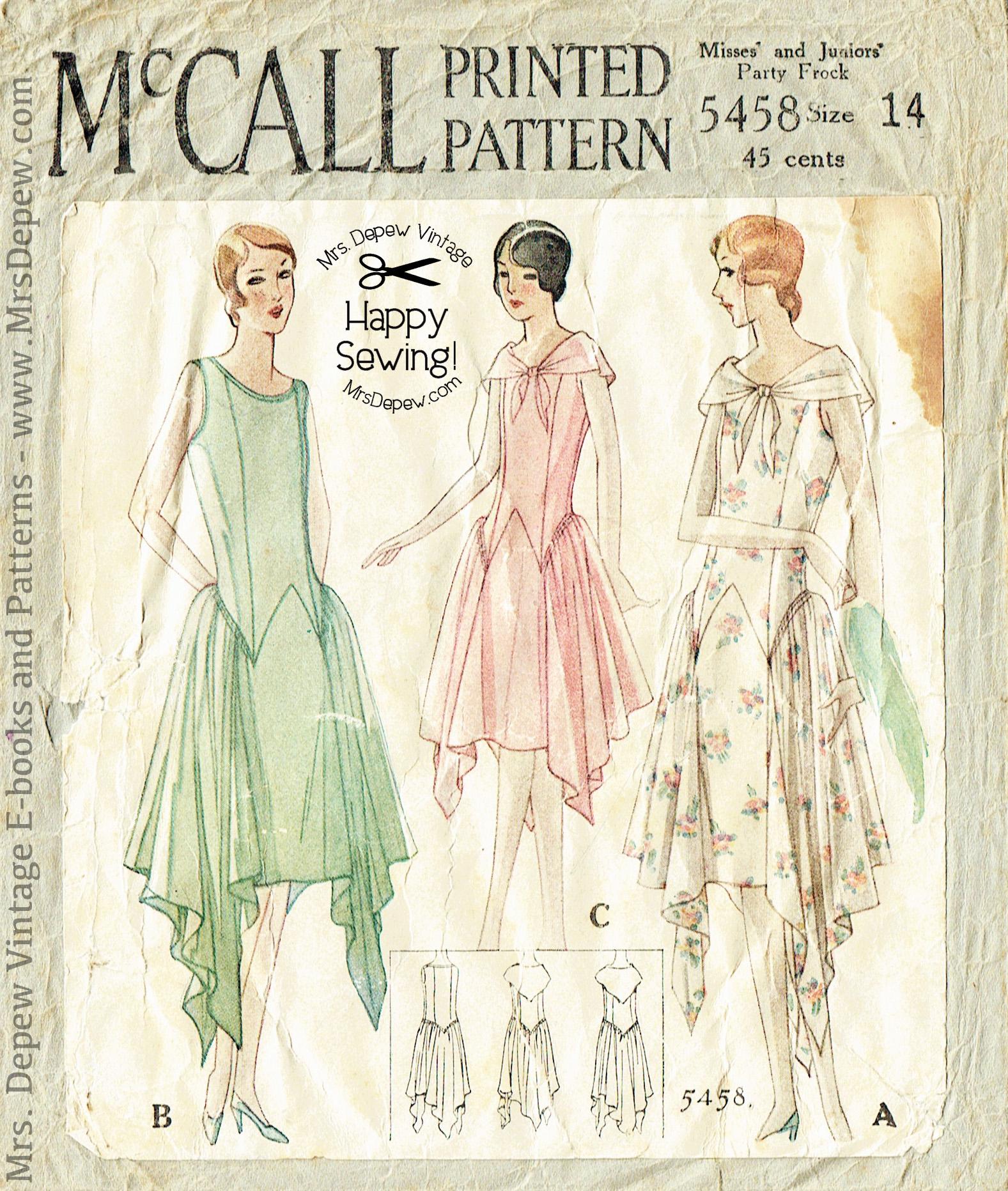 McCall 5458 B