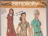 Simplicity 8869 A