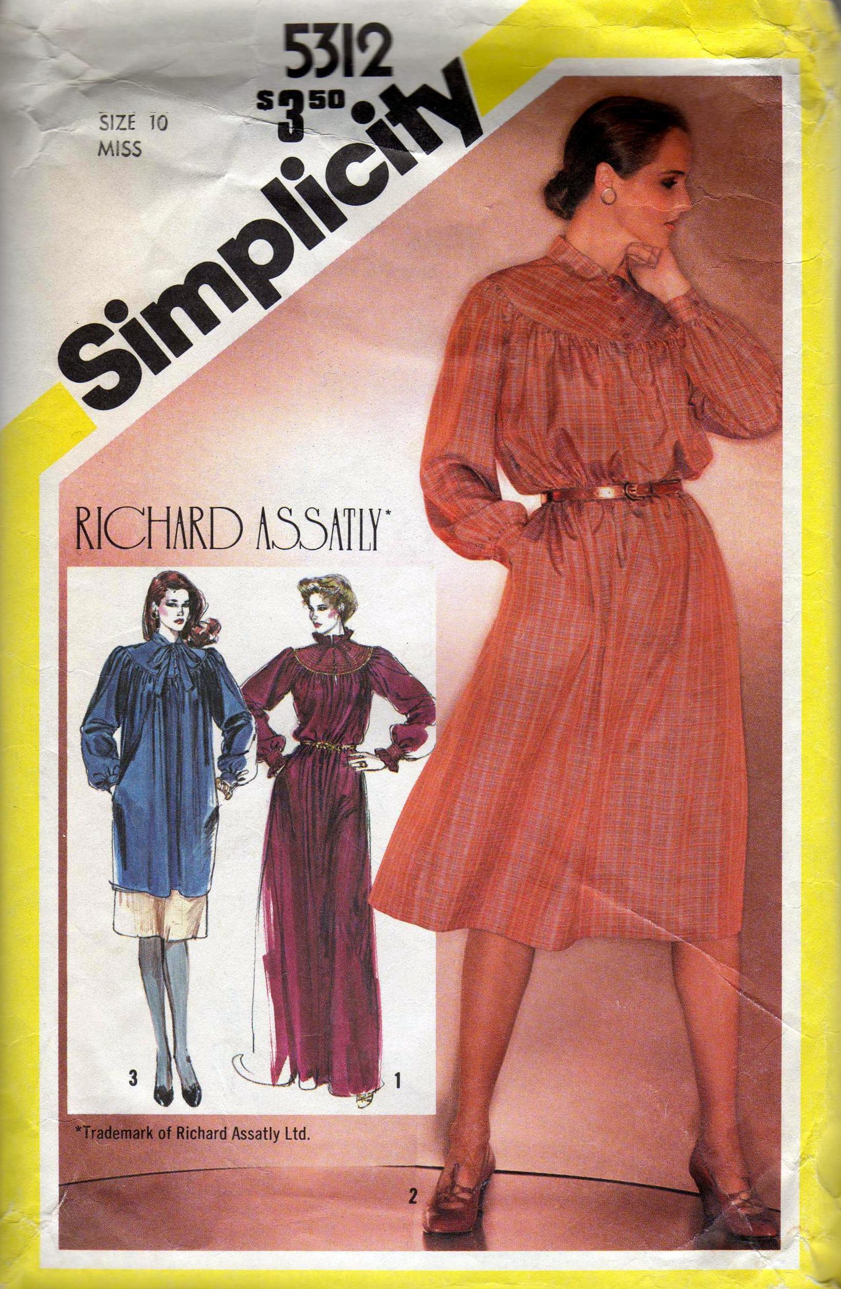 Simplicity 5312 A