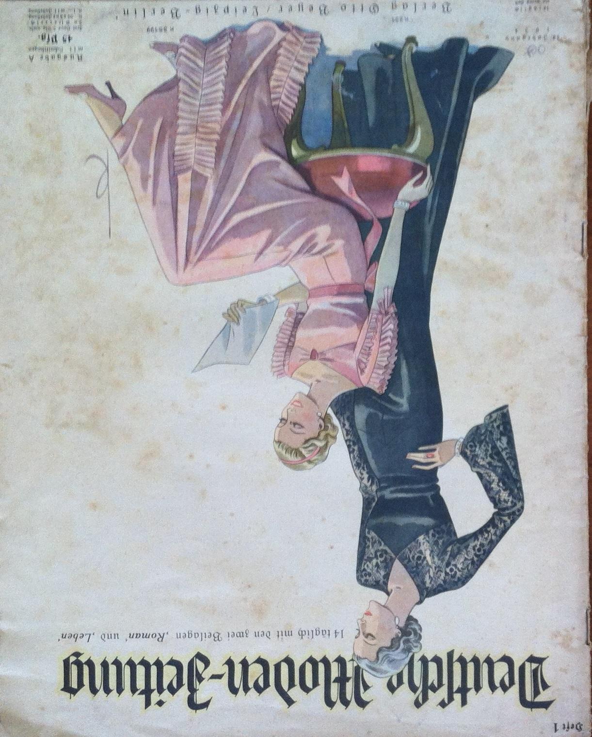 Deutsche Moden-Zeitung No. 1 Vol. 44 1934