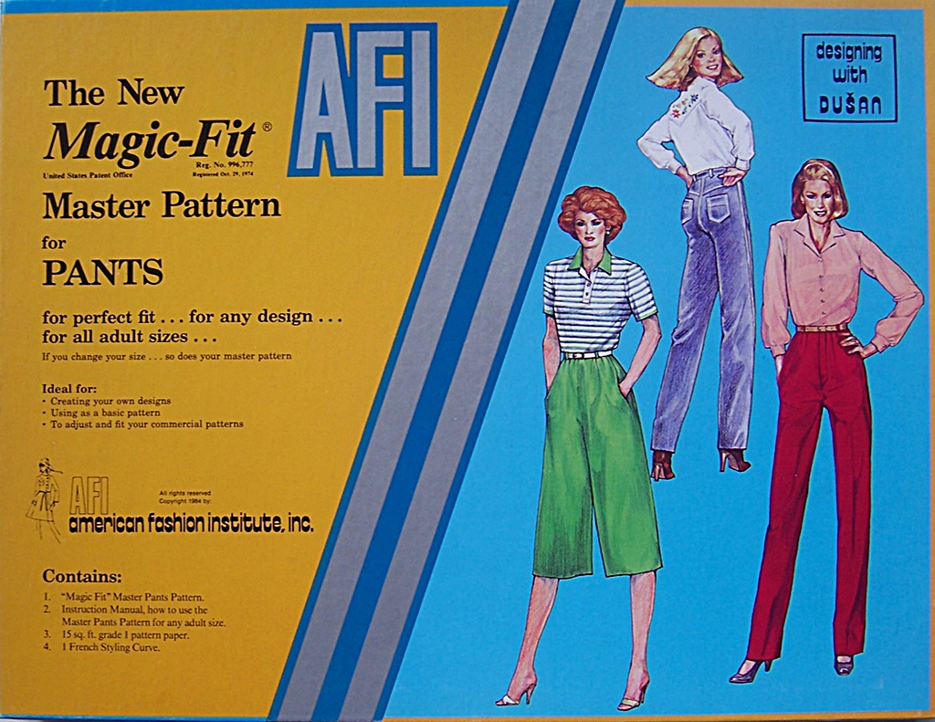 Magic-Fit Master Pattern for Pants