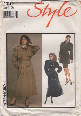 Misses Lined Trench Coats