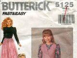 Butterick 5125 B