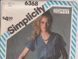 Simplicity 6368 B