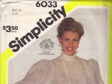 Simplicity 6033 A