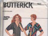 Butterick 4603 B