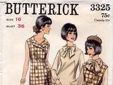 Butterick 3325 A
