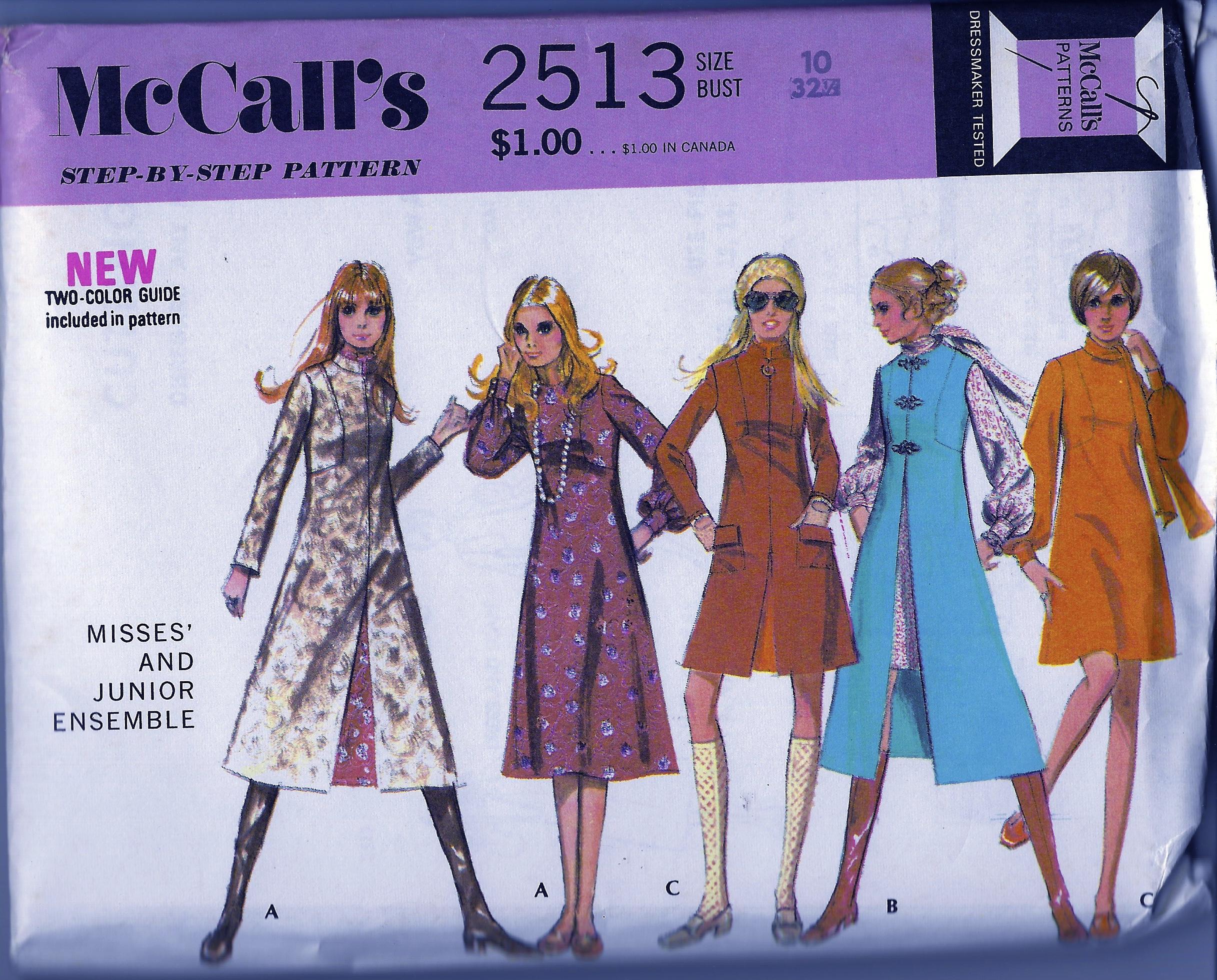 McCall's 2513 A