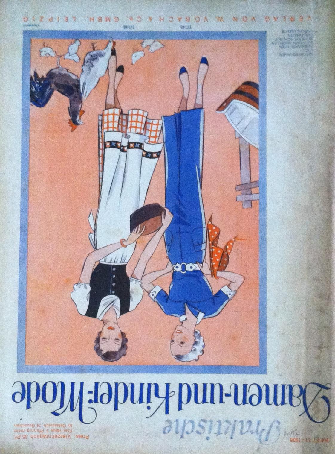 Praktische Damen- und Kinder-Mode No. 11 1935