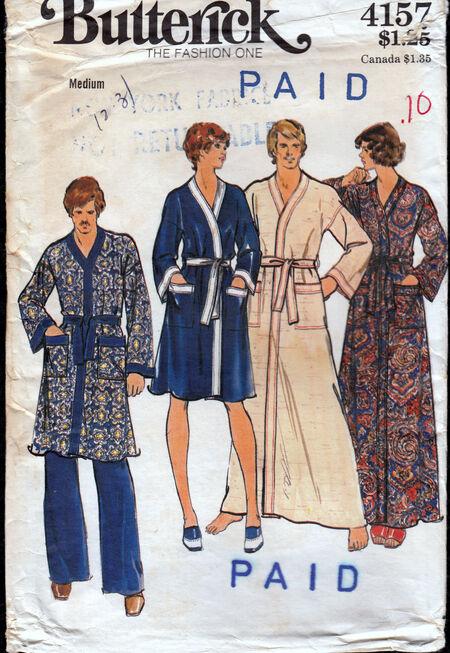 Vintage robe Butterick 4158 Penelope Rose at Artfire.com (2).jpg