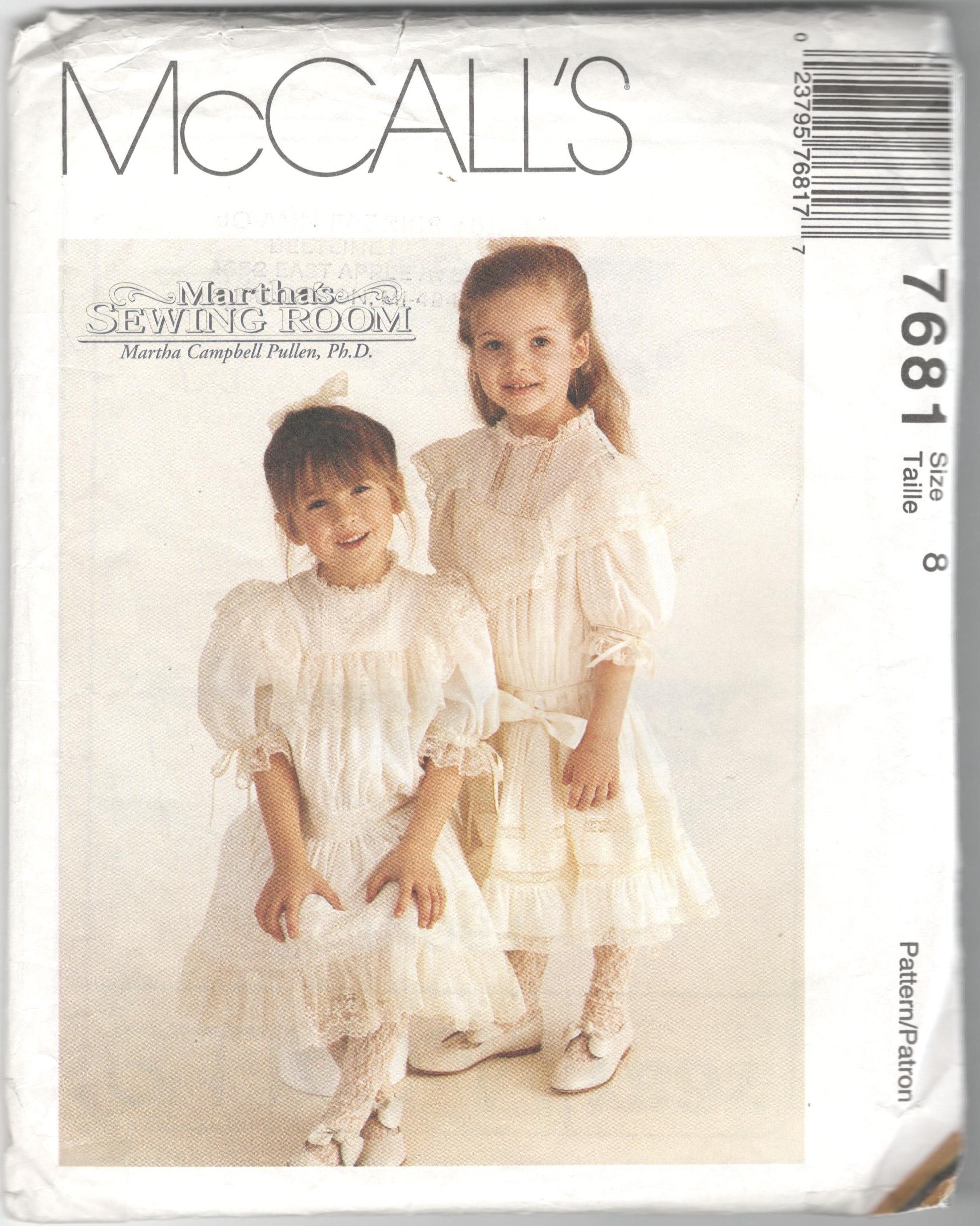 McCall's 7681 B