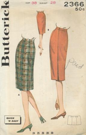 Butterick 2366