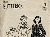 Butterick 4630 A