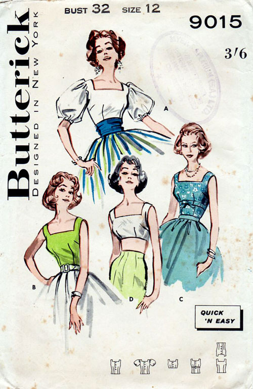 Butterick 9015