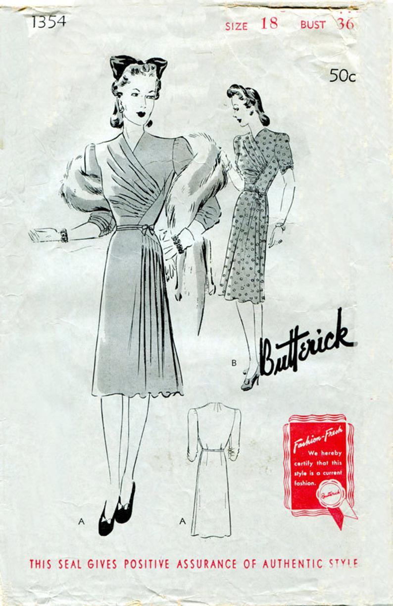 Butterick 1354