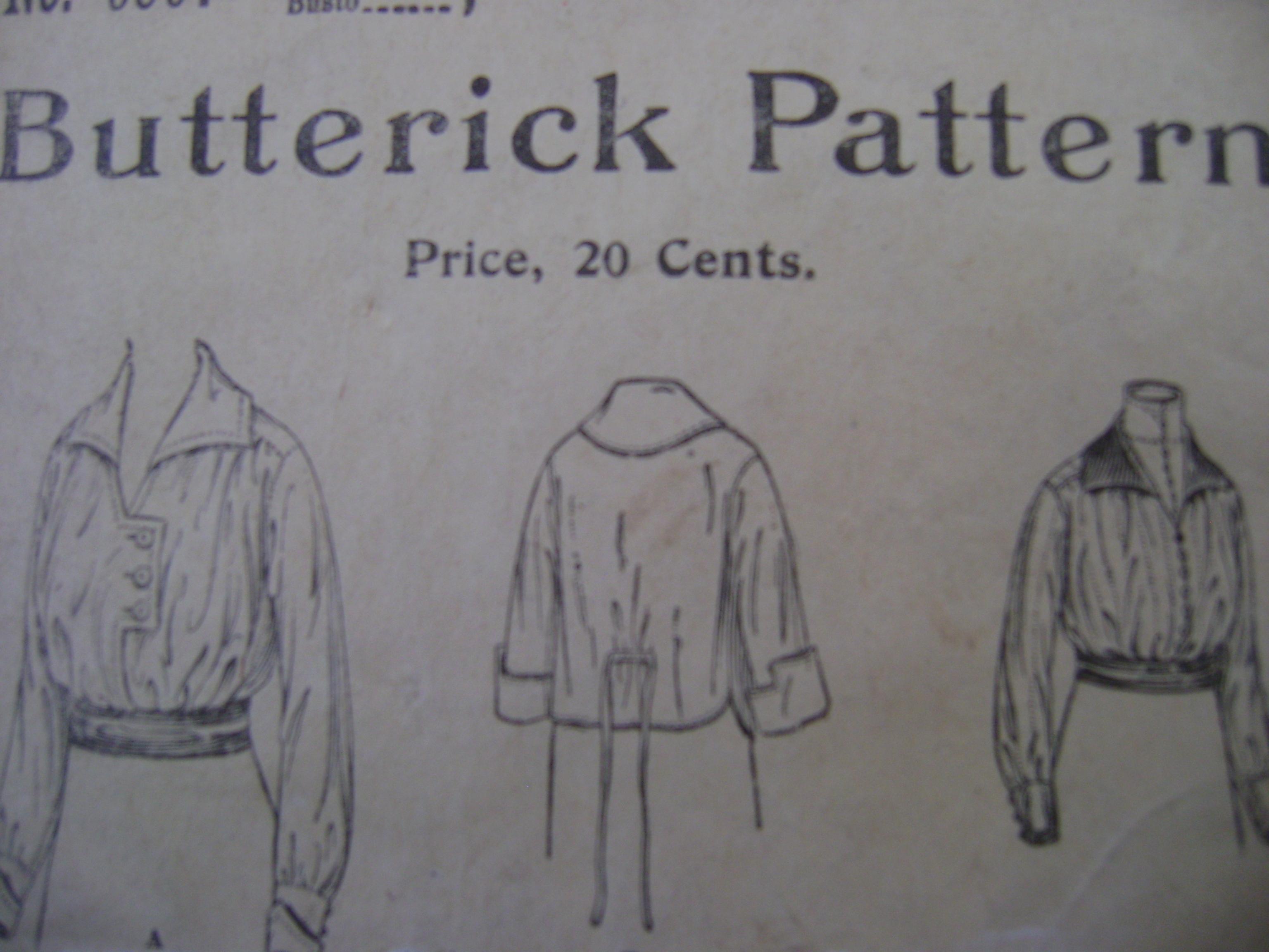 Butterick 9597 A