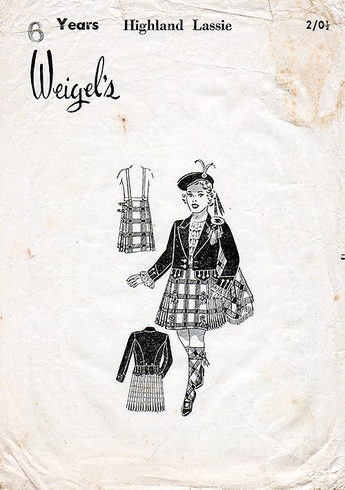 Weigel's Highland Lassie
