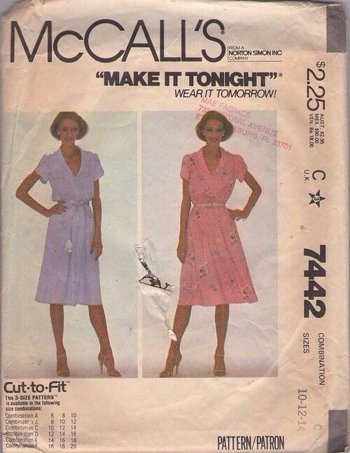 McCall's 7442