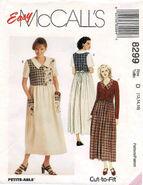 McCalls 1996 8299