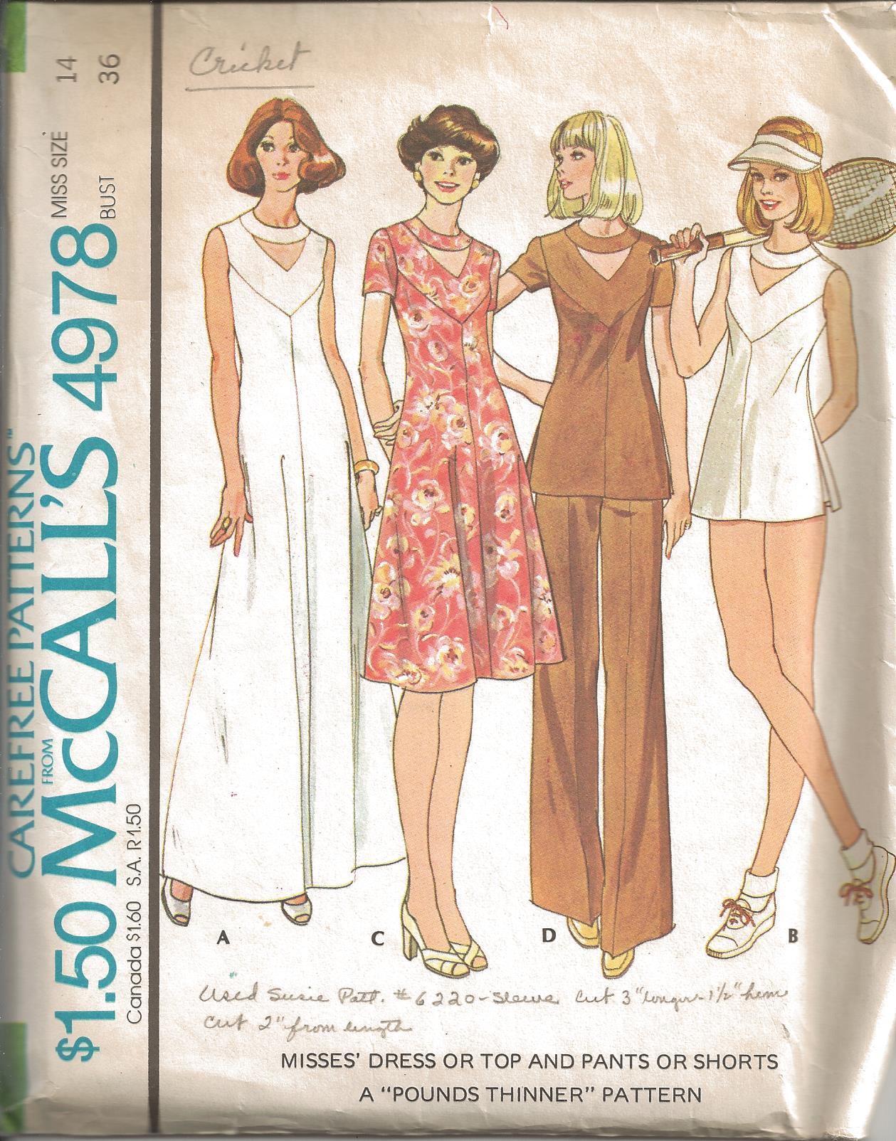 McCall's 4978 A