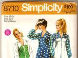 Simplicity 8710