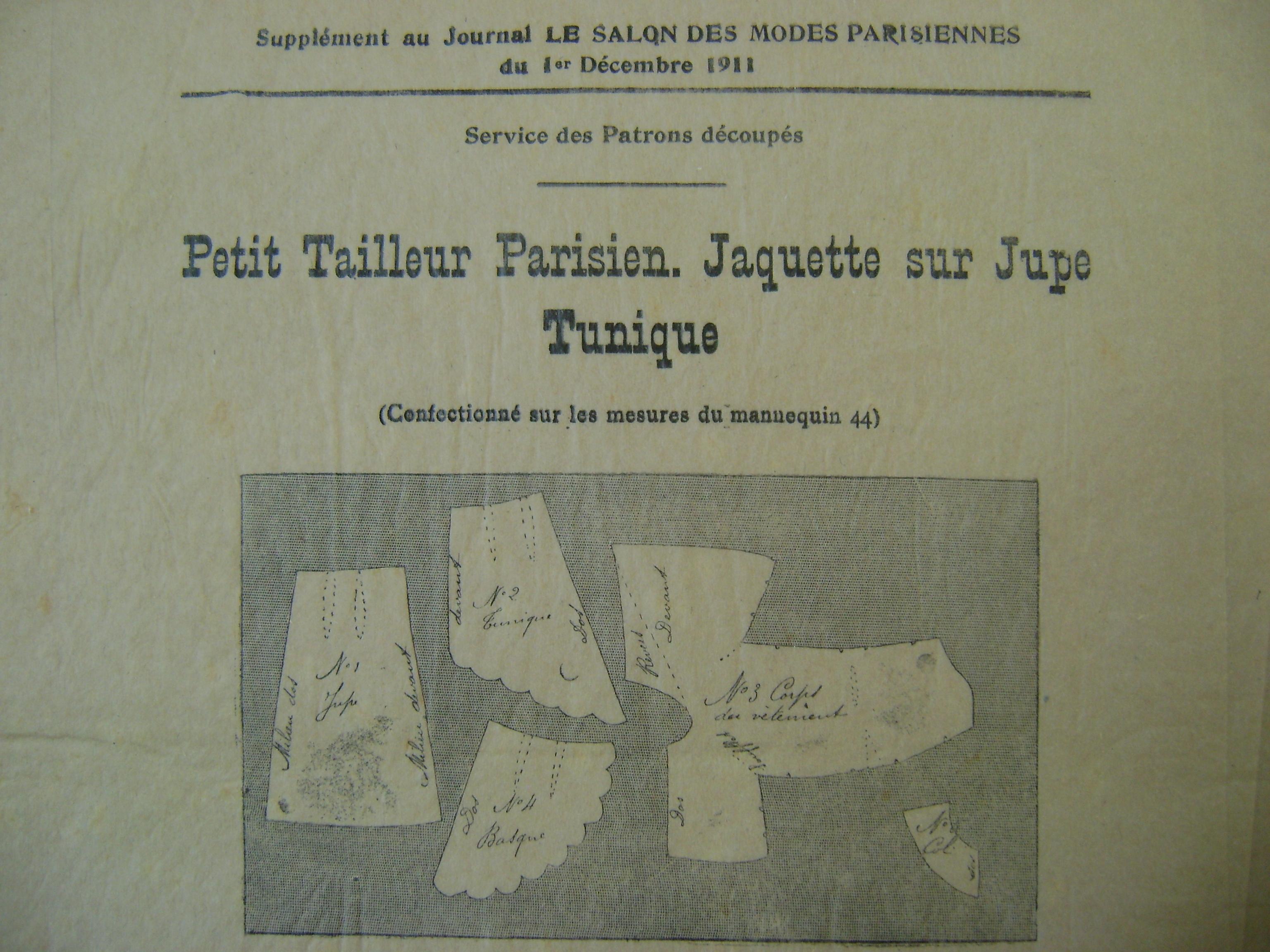 Le Salon des Modes Parisiennes December 1911