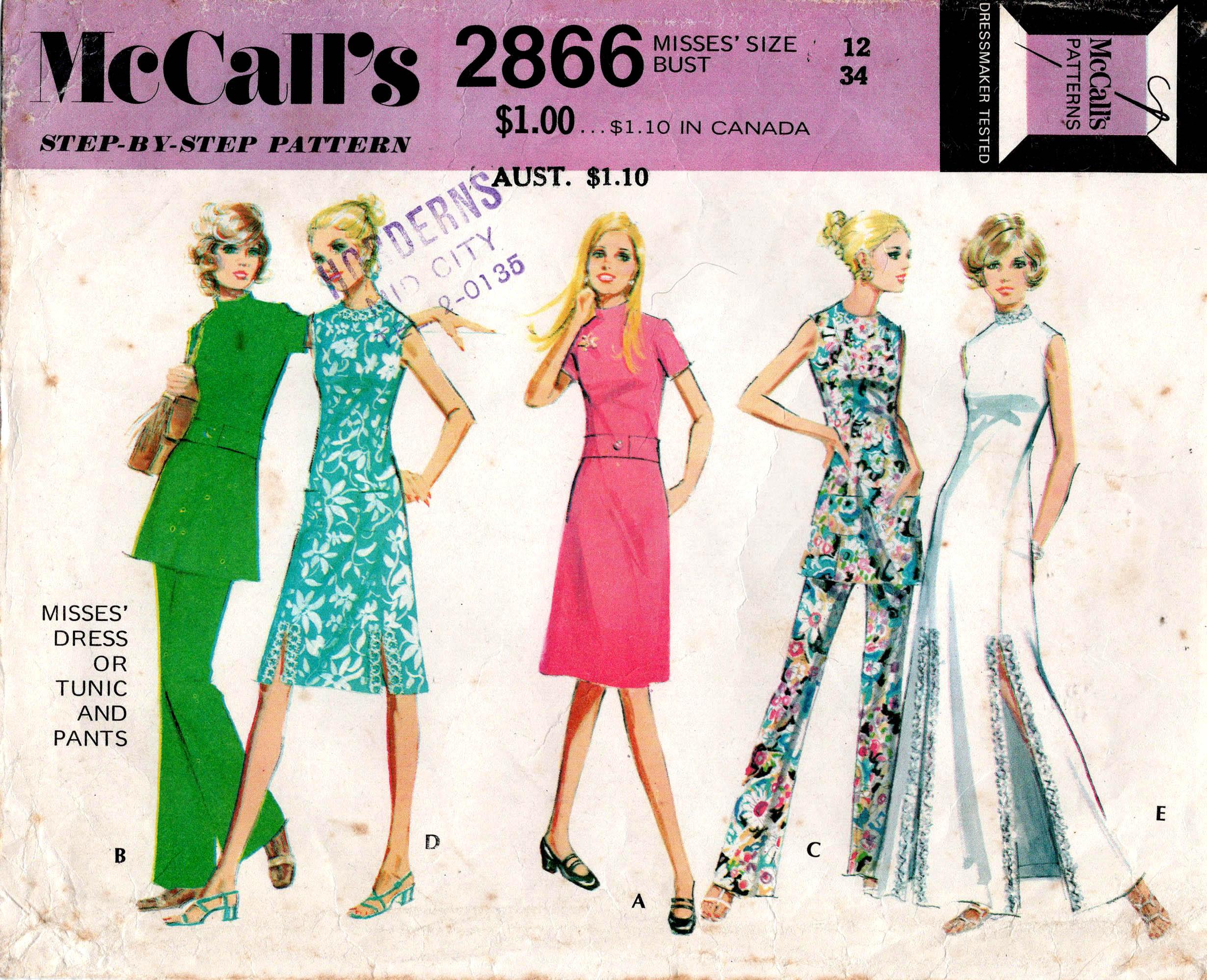 McCall's 2866