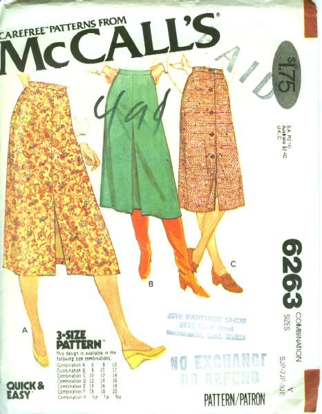 McCall's 6263