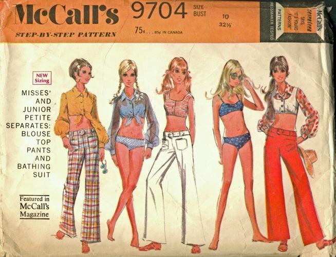 McCall's 9704 A