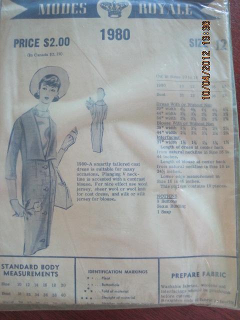 Modes Royale 1980