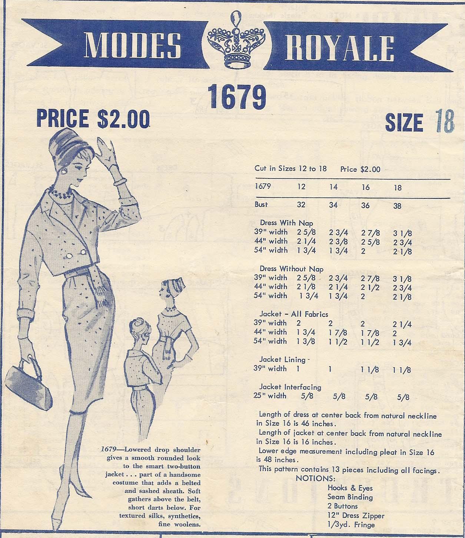 Modes Royale 1679