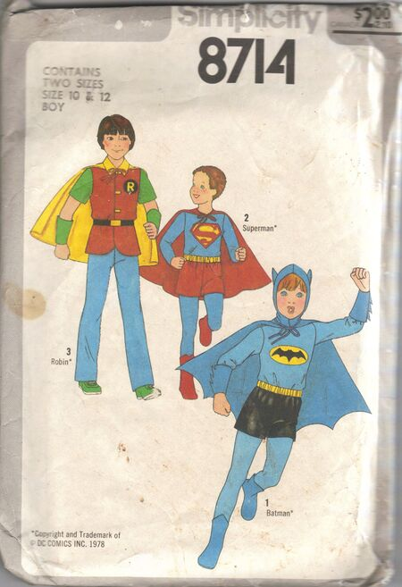Child's and Boys' Costumes ©1978