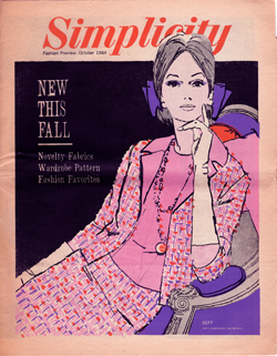 Simplicity Fashion Preview October 1964