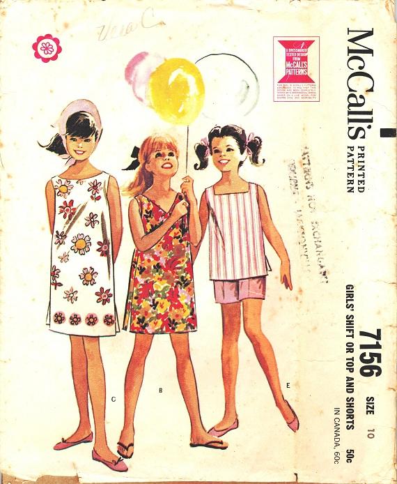 McCall's 7156 A