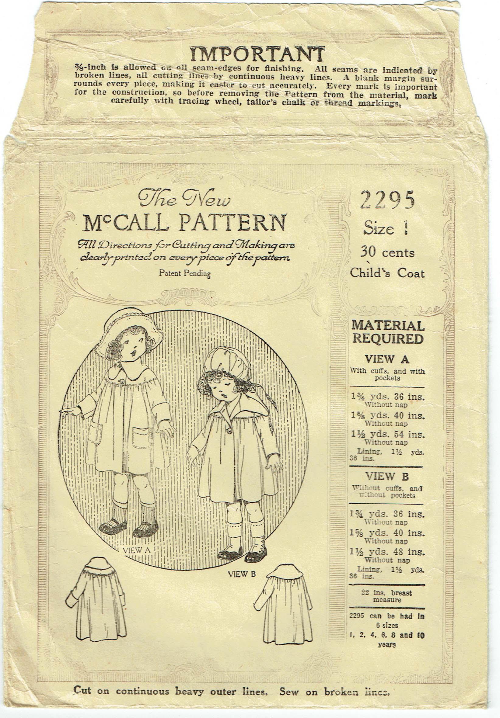 McCall 2295