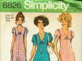 Simplicity 8826