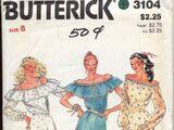 Butterick 3104 A
