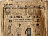 Butterick 1165