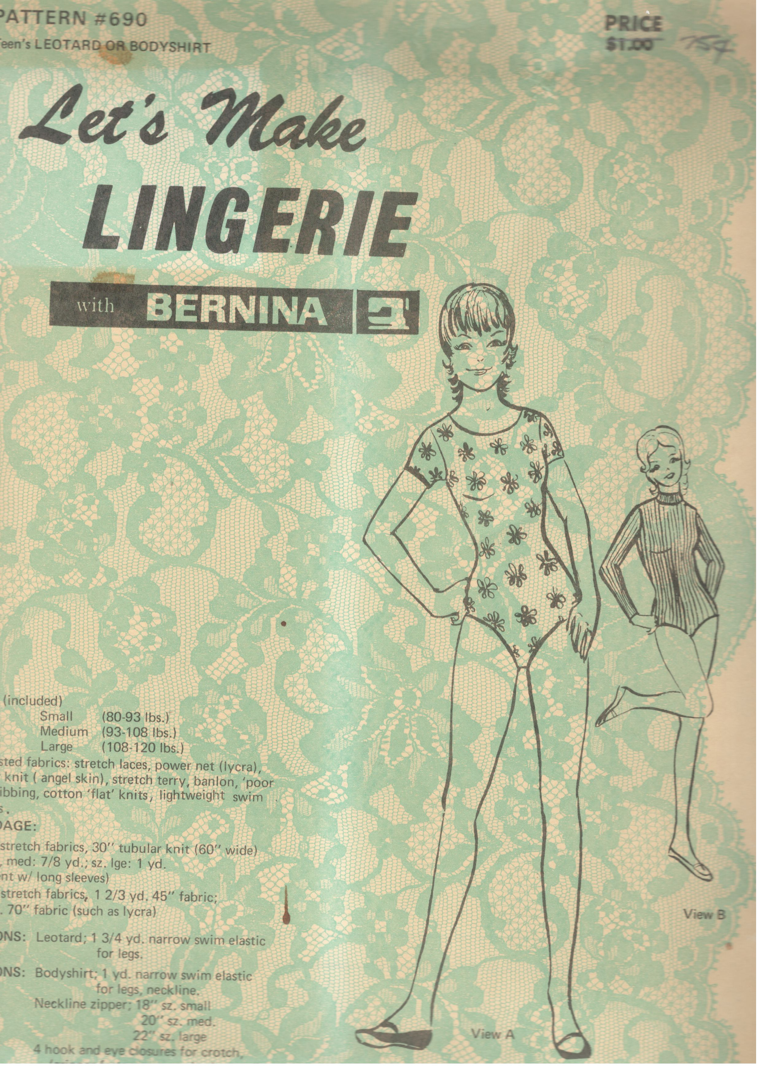 Let's Make Lingerie 690