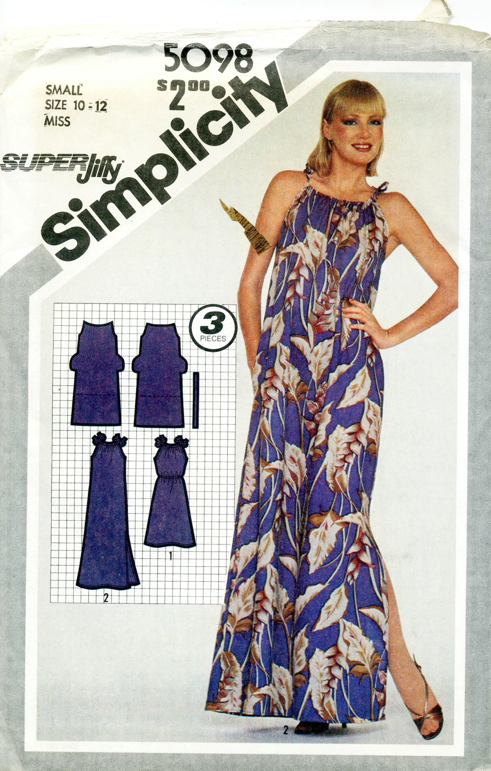 Simplicity 5098