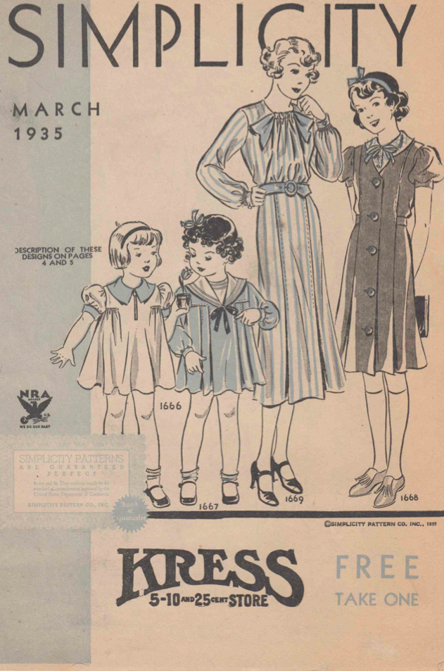 Simplicity Patterns March 1935