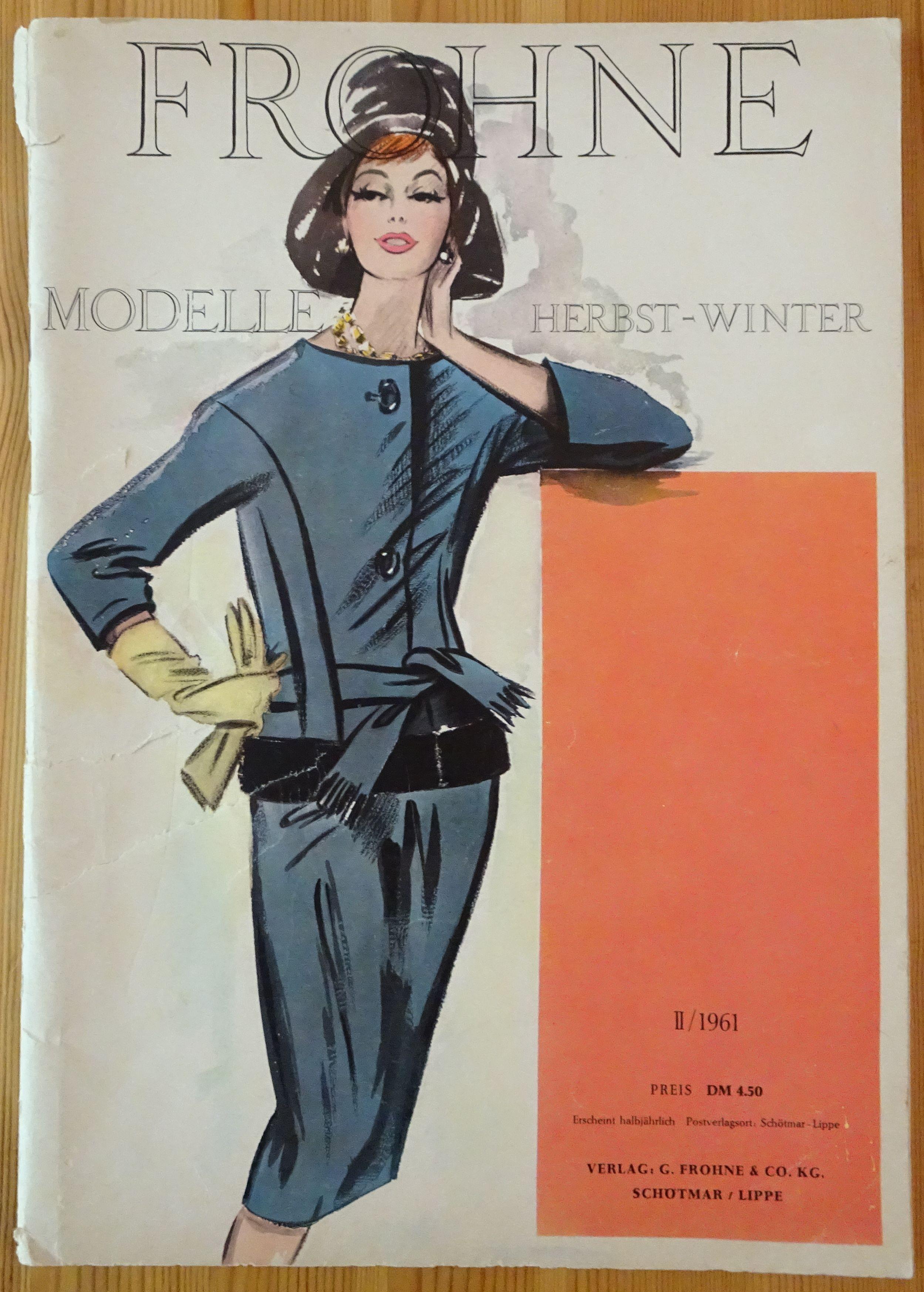 Frohne Modelle 2/1961