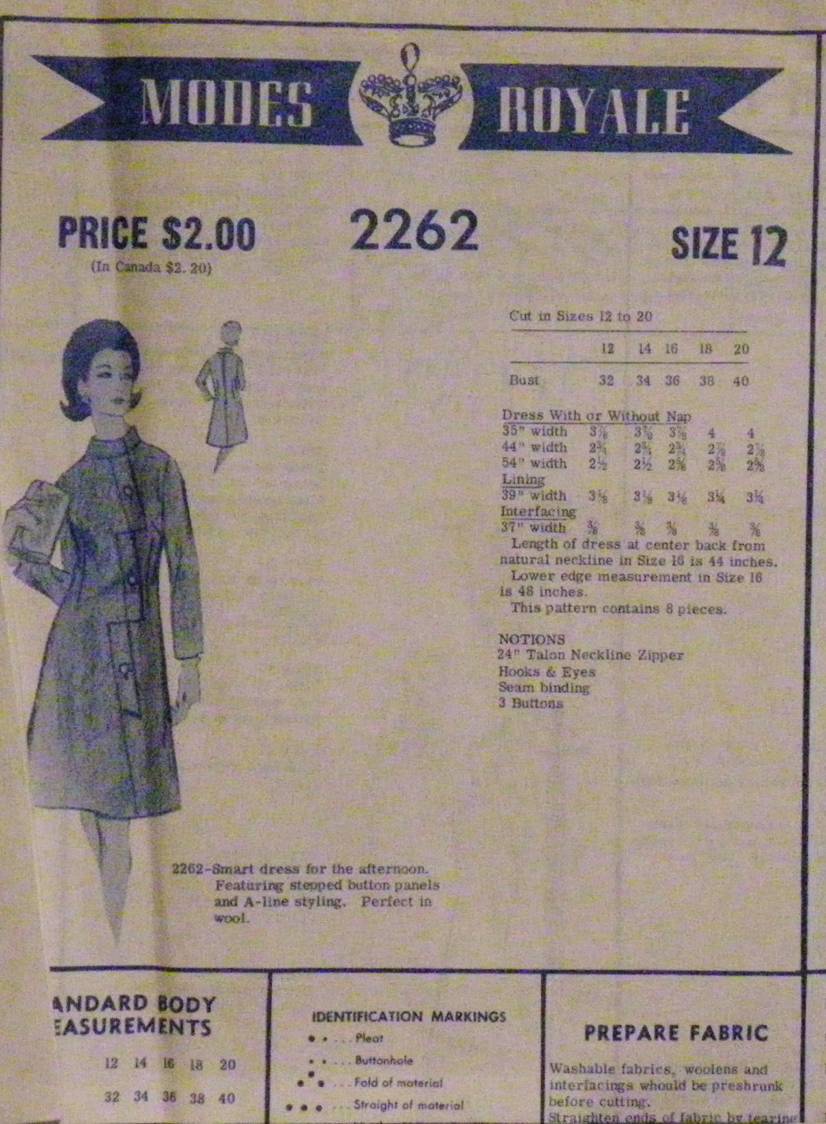 Modes Royale 2262