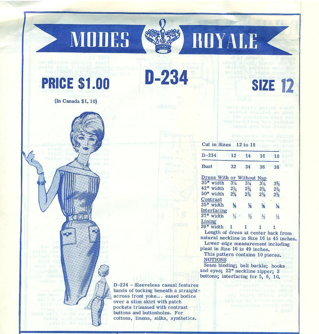 Modes Royale D-234