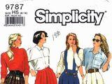 Simplicity 9787