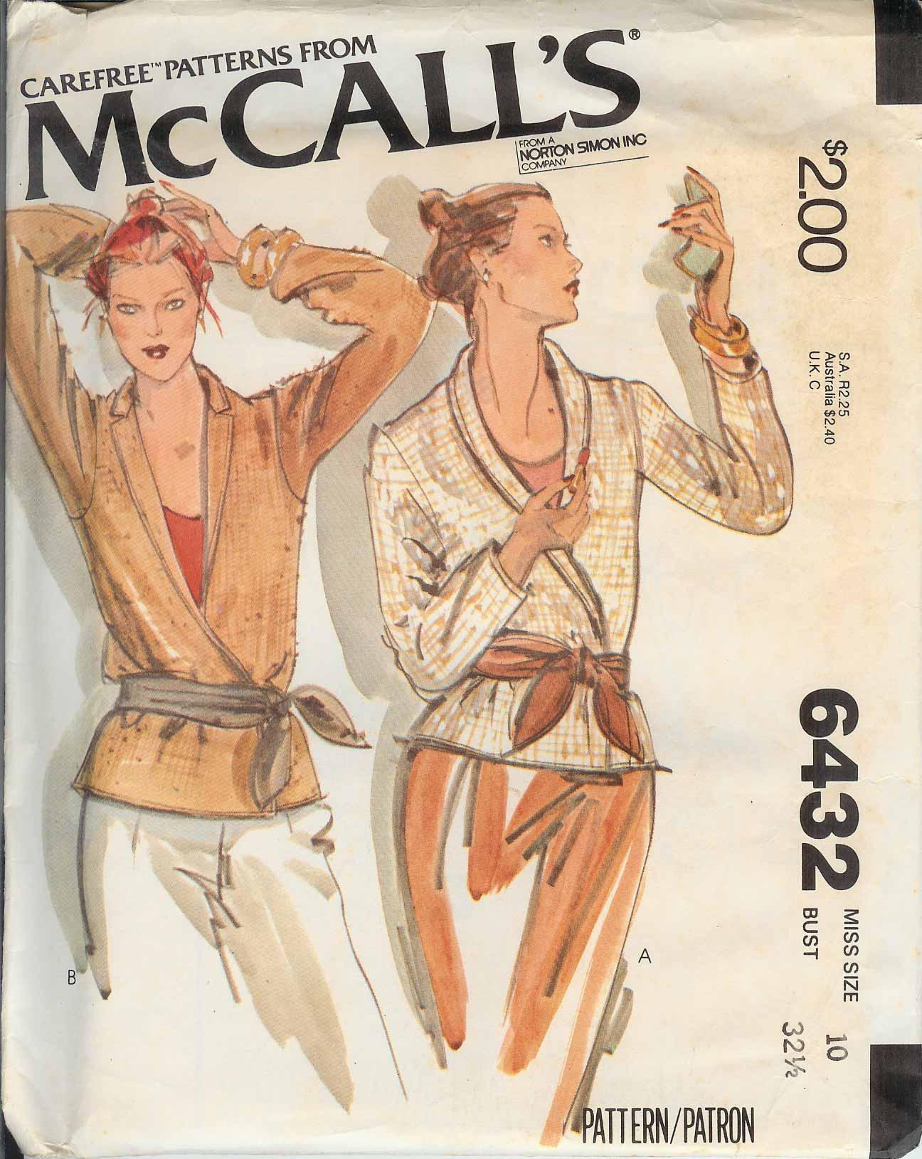 McCall's 6432