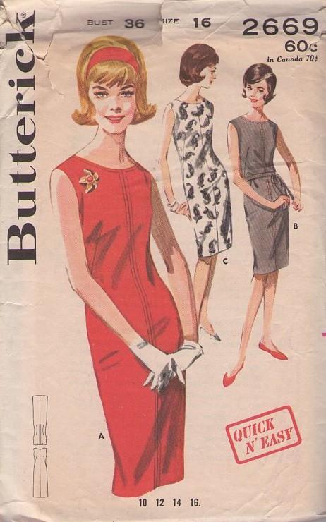 Butterick 2669